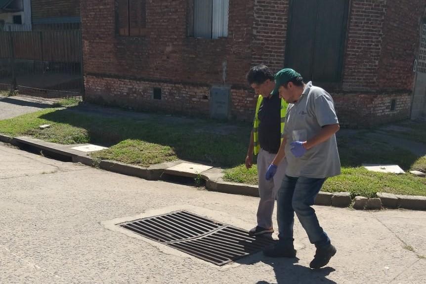 San Fernando realizó tareas de Control de Plagas en los barrios Alvear y San José