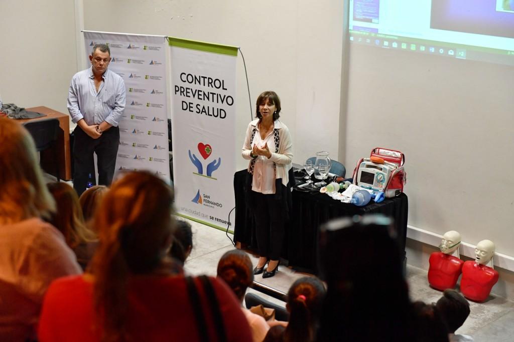 San Fernando continúa capacitando al personal del futuro Hospital Municipal