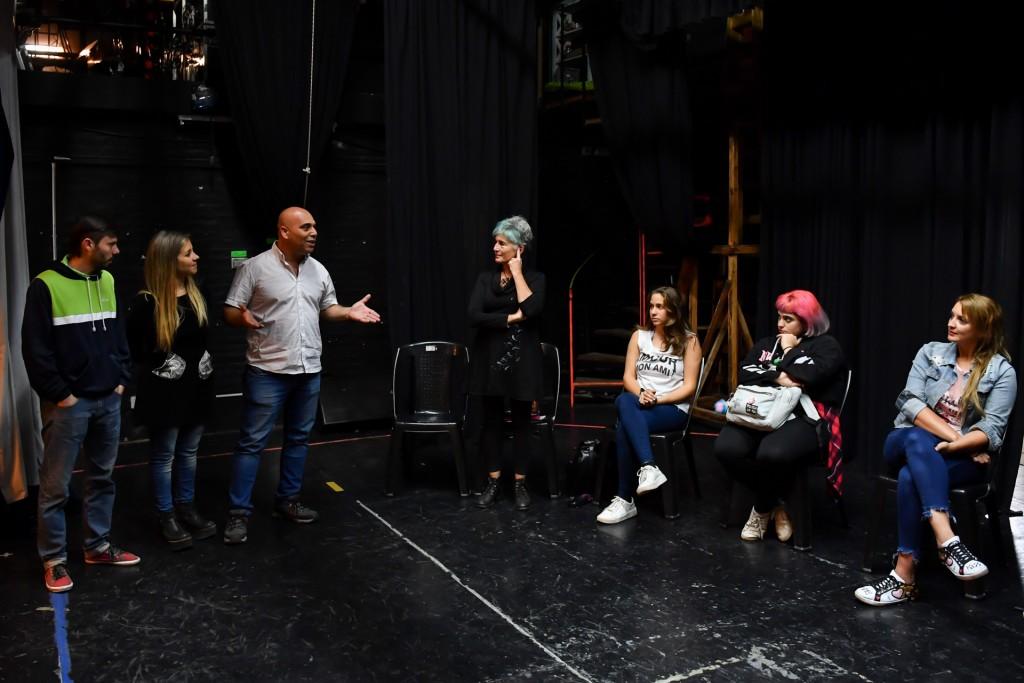 Comenzaron los cursos de nivelación artísticos del Teatro Martinelli de San Fernando