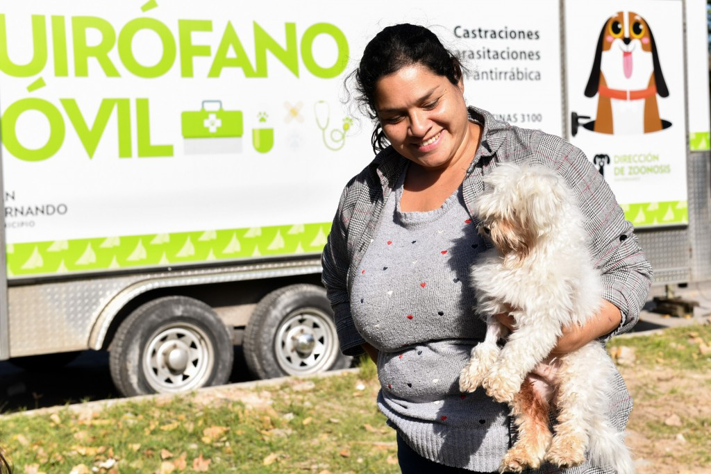 'Zoonosis en tu Barrio' volvió al barrio Aviación de San Fernando