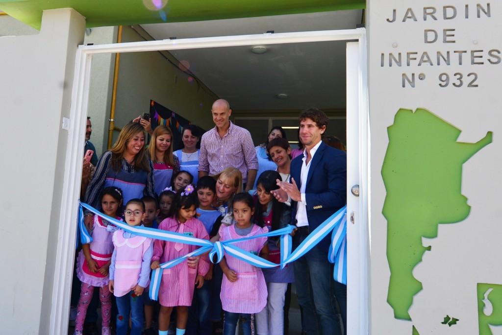 San Fernando inauguró el renovado Jardín Provincial N°932