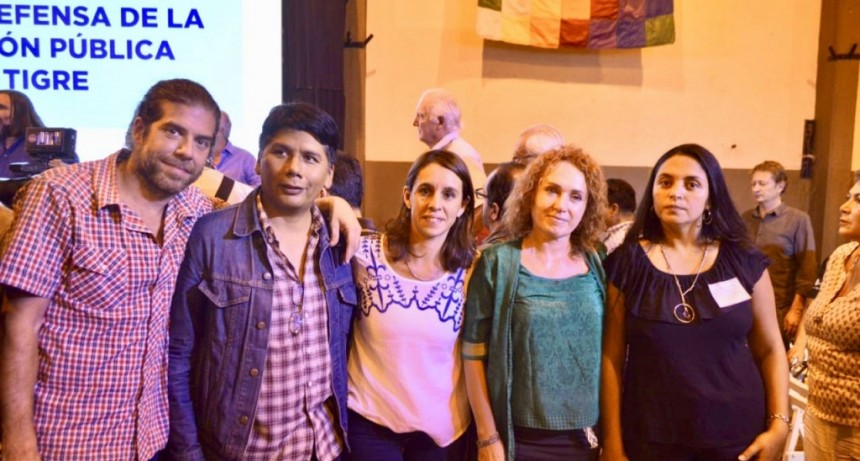 Unidad Ciudadana de Tigre responsabilizó a Vidal en el Foro de Educación