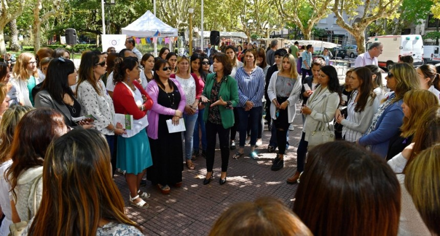San Fernando homenajeó a todas las mujeres en su día