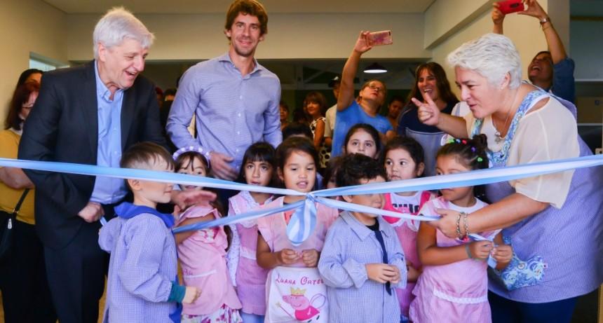 Andreotti inauguró el renovado Jardín Provincial N° 914