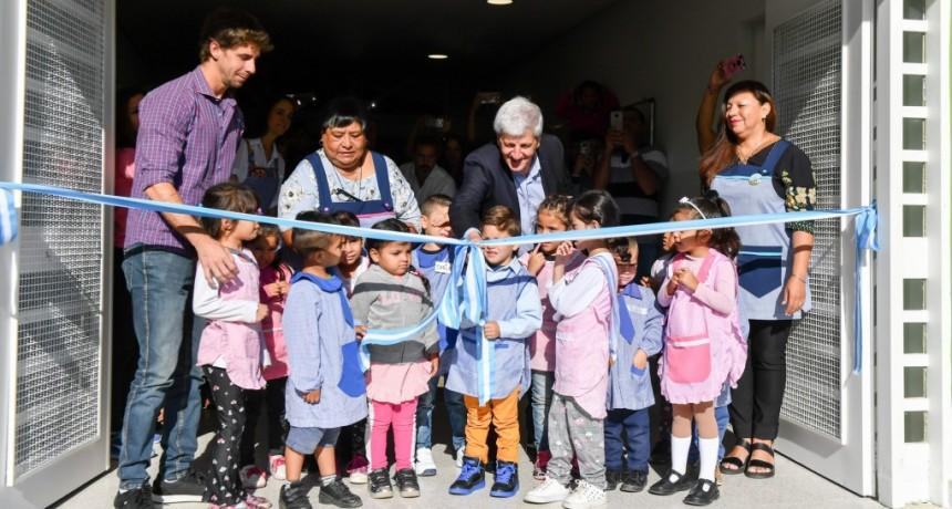 Luis Andreotti inauguró la puesta en valor del Jardín Provincial N° 913