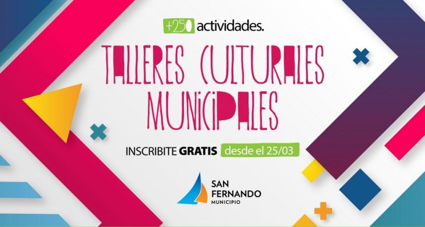 San Fernando abre la inscripción a los Talleres Culturales Municipales 2019