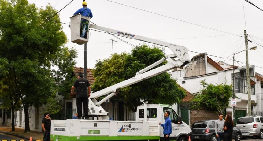 San Fernando sumó más cámaras de seguridad en Victoria