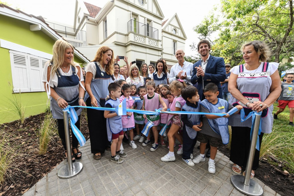 Juan Andreotti inauguró el renovado Jardín Provincial Nº 901 de San Fernando