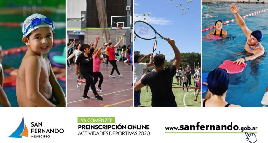 San Fernando abre inscripción online para las actividades en todos los Polideportivos