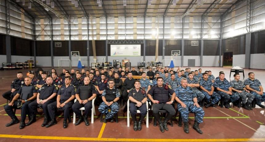 Con 150 nuevos agentes, San Fernando refuerza los controles de la cuarentena