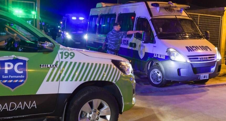 San Fernando: violó la cuarentena, se accidentó y ya tiene una causa penal