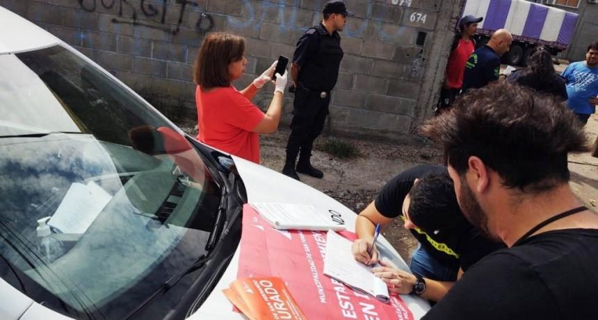 El Municipio de San Fernando clausuró un aserradero que violaba la cuarentena obligatoria