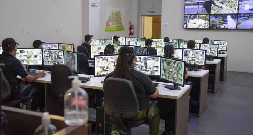 San Fernando refuerza el monitoreo de cámaras de seguridad en la cuarentena obligatoria