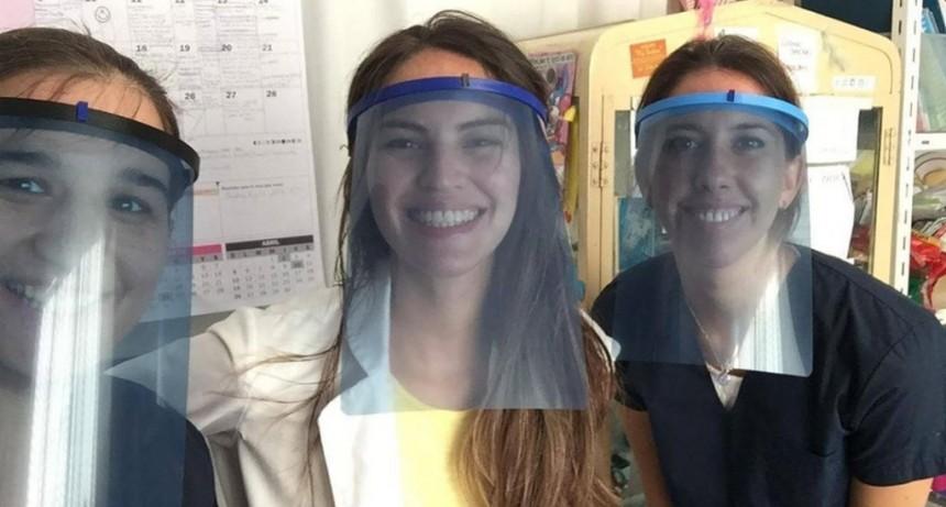 Vecinos construyen máscaras con impresoras 3D para los Hospitales de San Fernando