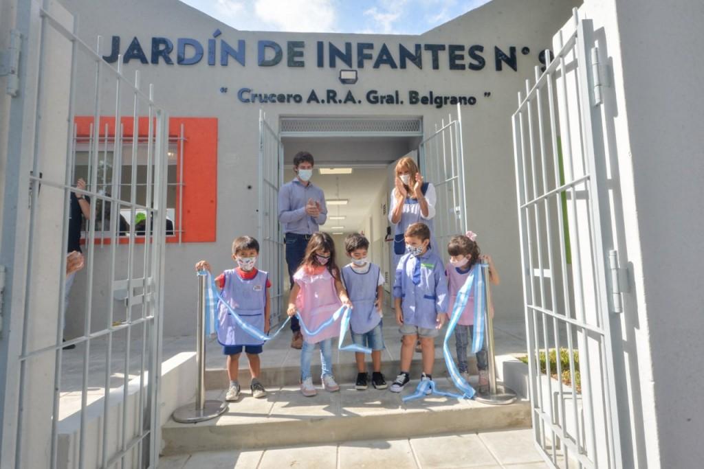 Juan Andreotti inauguró la renovación del Jardín Nº931