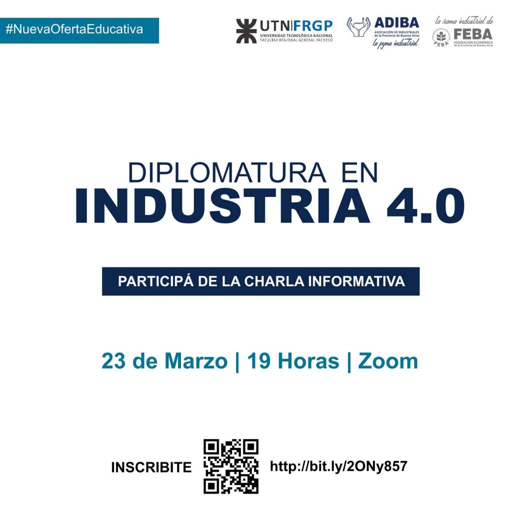 UTN Pacheco lanza la Diplomatura en Industria 4.0