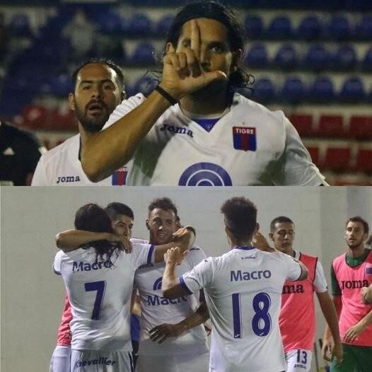 Triunfo de Tigre sobre RIESTRE POR 3 A 0 con un triplete de Magnin