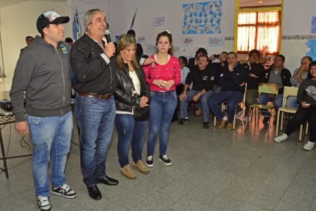 El SUM de la Escuela N° 37 recibió el nombre del Ex Combatiente Juan Cimino