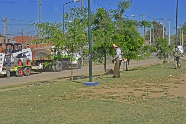 El Municipio realiza trabajos de mejora para el barrio San Jorge