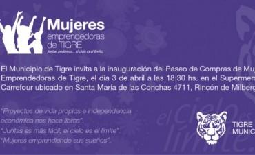 """Un nuevo espacio para las """"Mujeres Emprendedoras"""" de Tigre"""
