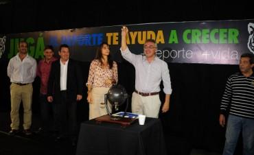 Se presentaron los torneos municipales de Fútbol y Vóley en Tigre