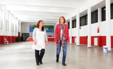 Más obras para poner a punto las escuelas de Tigre