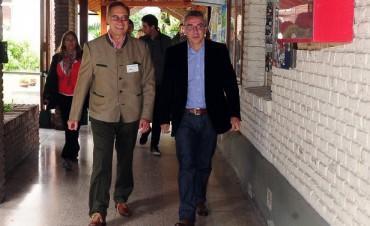Zamora junto a la Sociedad Alemana de Beneficencia DWG