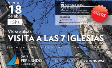 Turismo Religioso en San Fernando: visita a las 7 Iglesias