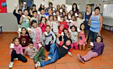 El Municipio festejó la Pascua con los chicos de sus Polideportivos, UDI, CEIM y el Taller Protegido