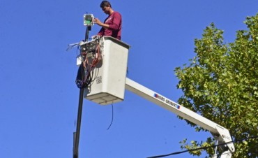 Suman nuevas cámaras de seguridad a las esquinas de San Fernando