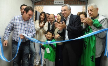 El Polideportivo Ricardo Rojas renueva sus espacios