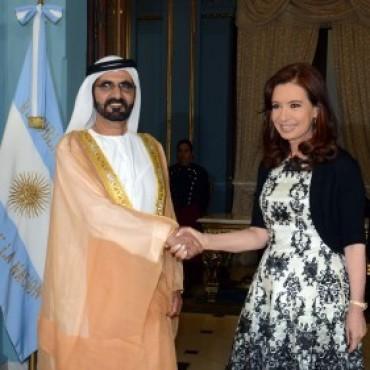 La presidenta Cristina Fernández de Kirchner firmo un convenio de