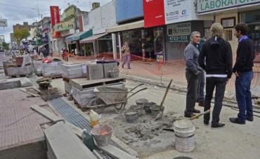 Pronto, el paseo comercial de la calle Constitución tendrá terminadas 2 nuevas cuadras