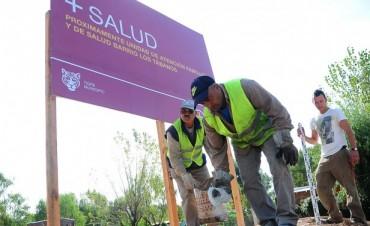 Avanza la construcción del nuevo CAFyS en Los Tábanos