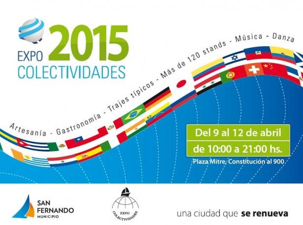 """""""Expo Colectividades 2015"""" estará en San Fernando del 9 al 12 de abril"""