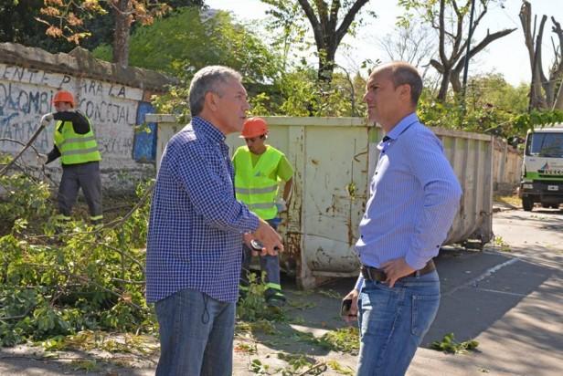 San Fernando suma 3 nuevos camiones para realizar su Plan de Poda en toda la ciudad