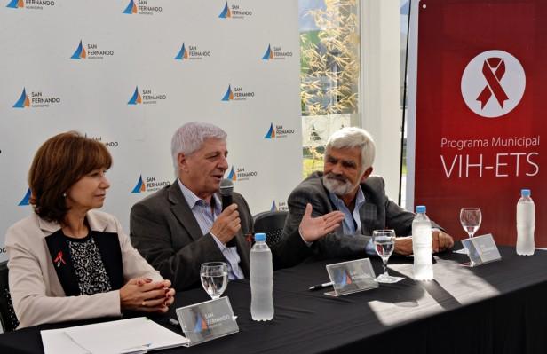 Andreotti firmó un nuevo convenio con la Fundación Huésped para trabajar sobre la salud sexual y reproductiva