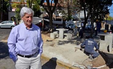 El Municipio renueva la Plazoleta Leopoldo Lugones