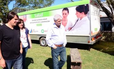La Unidad Sanitaria Móvil de San Fernando llegó a la Isla