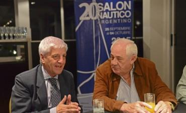 Luis Andreotti acompañó el lanzamiento del 20° Salón Náutico Argentino