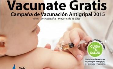 """San Fernando lanza la """"Campaña de Vacunación Antigripal 2015"""""""