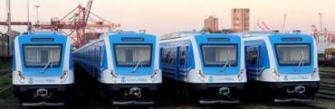 Los trenes cero kilómetro llegan a San Nicolás