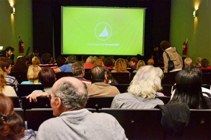 Di Caprio se lució en la pantalla del Teatro Martinelli