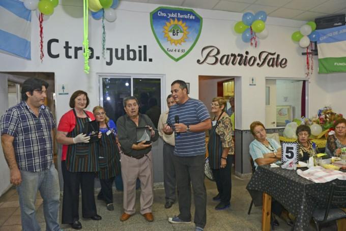 El Municipio de San Fernando estuvo presente en el 23° Aniversario del Centro de Jubilados Fate