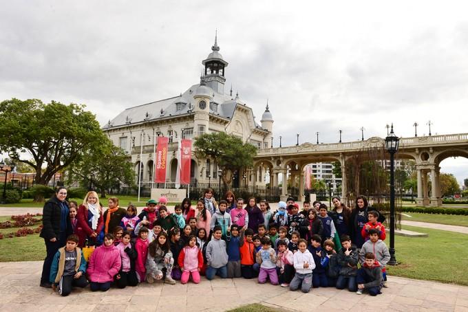 Alumnos de las UDI y de los CEIM de San Fernando recorrieron el Museo de Arte Tigre