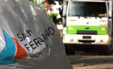 San Fernando intensifica operativos de barrido y limpieza por las lluvias