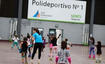 Crece con éxito la Escuela Municipal de Patín Artístico en San Fernando