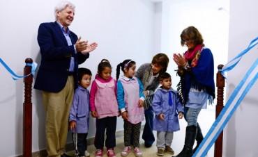 Luis Andreotti inauguró nuevas obras en Jardín de Infantes