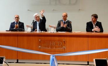 """Andreotti, en la apertura de sesiones del HCD: """"Todos merecemos estar orgullosos del lugar en que vivimos"""""""