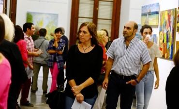 Gran apertura de la muestra de la Sociedad Sanfernandina para el Arte, en el Museo